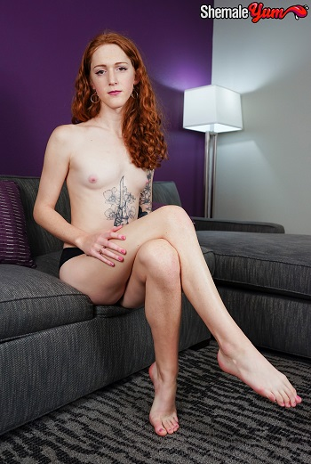 Lucy blue tranny